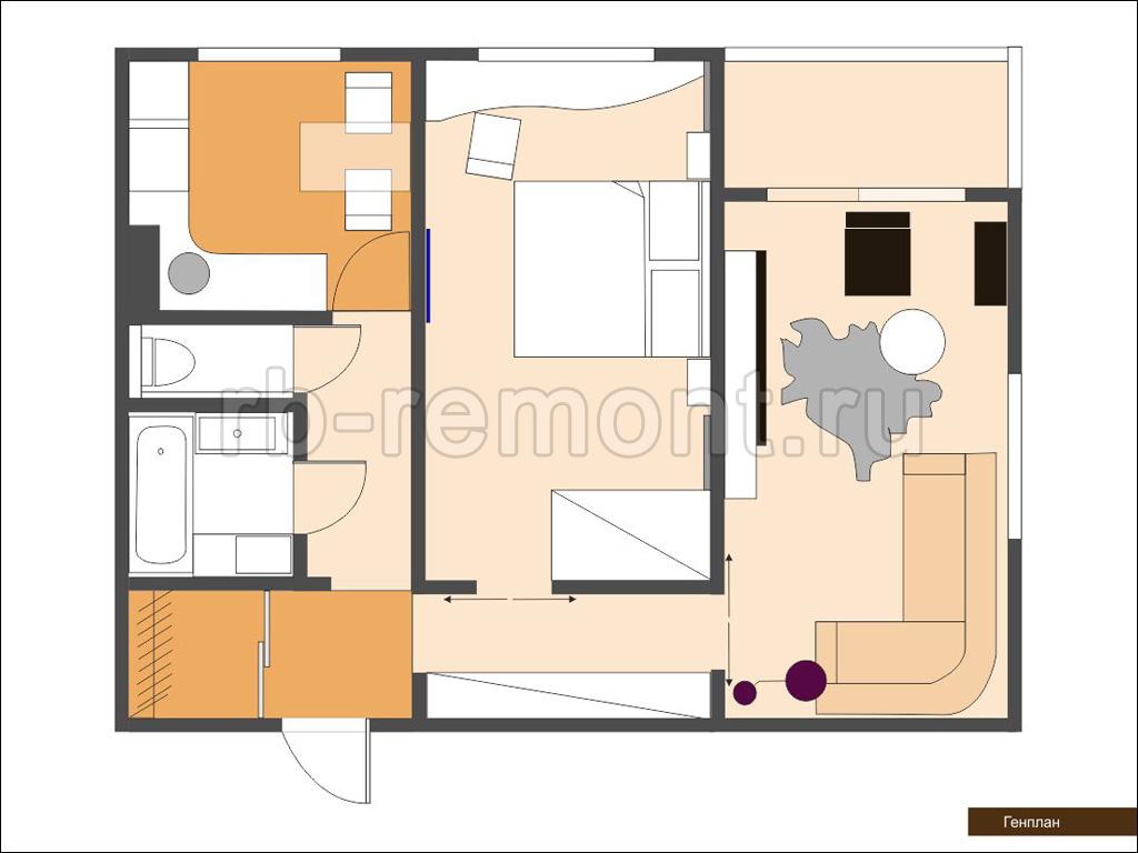 Ремонт квартир в Уфе под ключ  заказать ремонт с материалами
