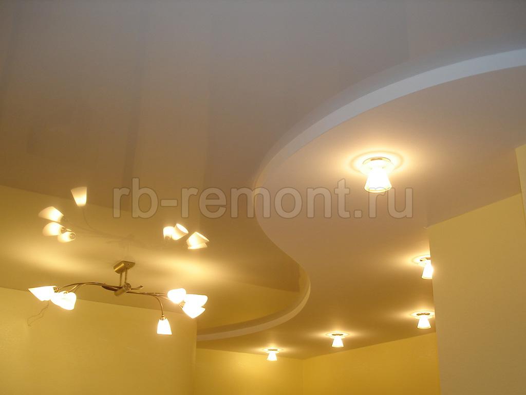 Недорогие натяжные потолки в Уфе 1 (бол.)