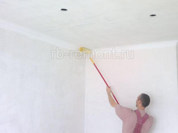 Покраска потолка 1 (бол.)