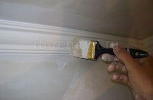 Покраска потолка 2 (мал.)