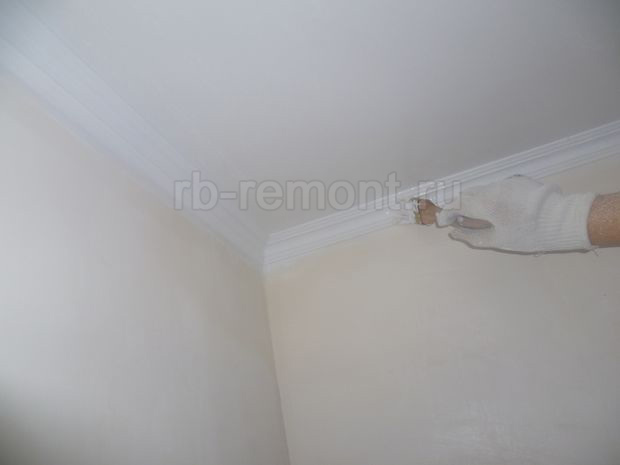 Покраска потолка 4 (бол.)