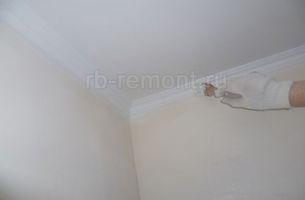 Покраска потолка 4 (мал.)
