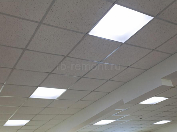 Faux plafond placo avec suspente cannes devis travaux for Rockfon faux plafond