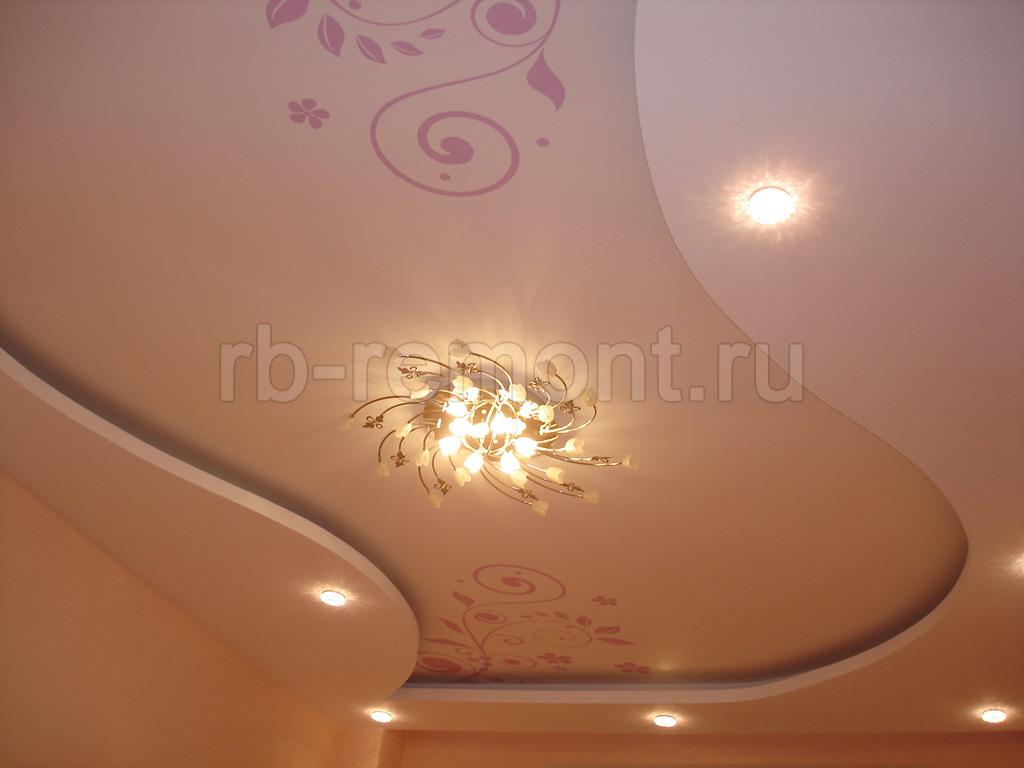 Потолок из гипсокартона 1 (бол.)