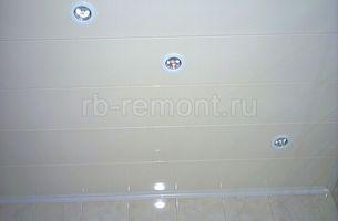 Подвесной потолок из панелей 1 (мал.)