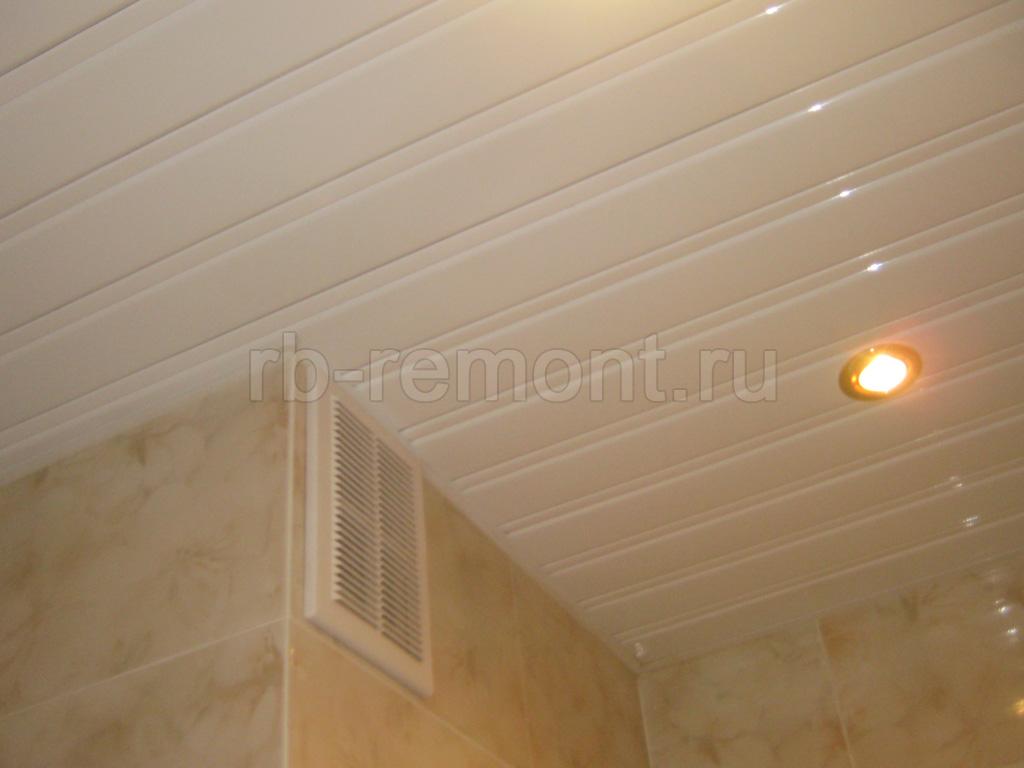 Подвесной потолок из панелей 2 (бол.)