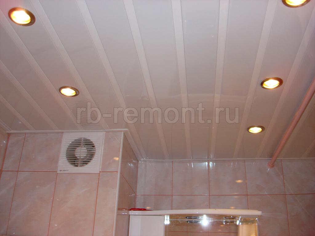 Подвесной потолок из панелей 3 (бол.)