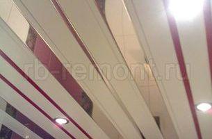 Подвесной реечный потолок 5 (мал.)