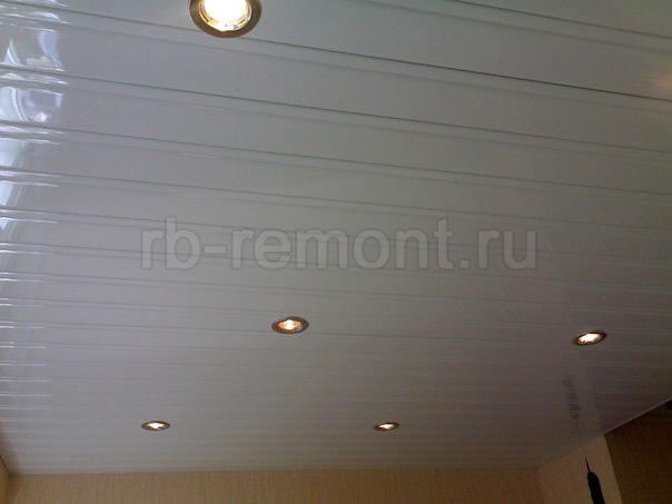 Подвесной реечный потолок 6 (бол.)