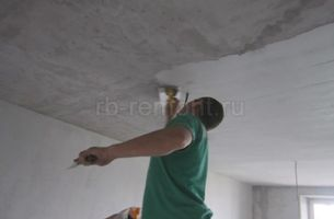 Штукатурка потолка 4 (мал.)