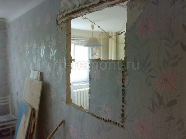Проемы в стене 3 (бол.)
