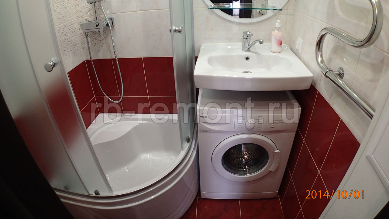 Ремонт ванной комнаты 2 (бол.)