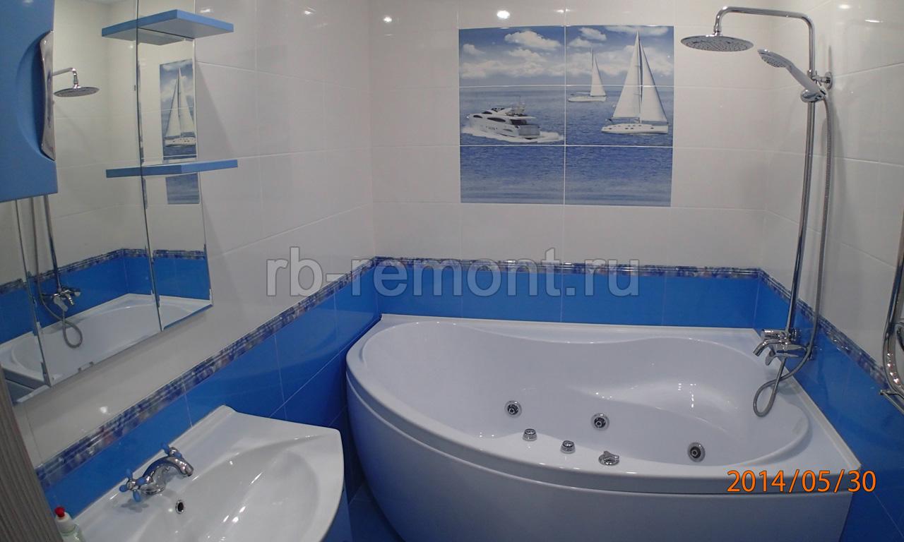 Ремонт ванной комнаты 10 (бол.)