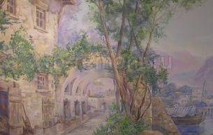 Роспись на стенах 3 (мал.)