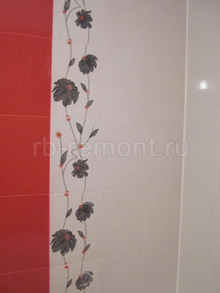 Укладка плитки на стену 1 (бол.)