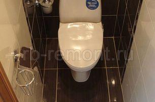 Укладка плитки в туалете 1 (мал.)