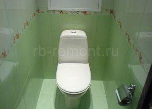 Укладка плитки в туалете 3 (мал.)