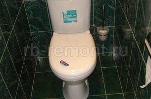 Укладка плитки в туалете 4 (мал.)