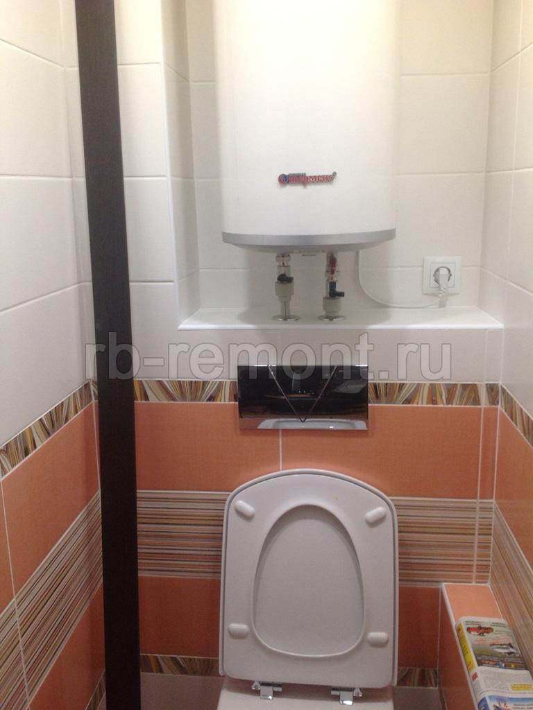 Укладка плитки в туалете 6 (бол.)