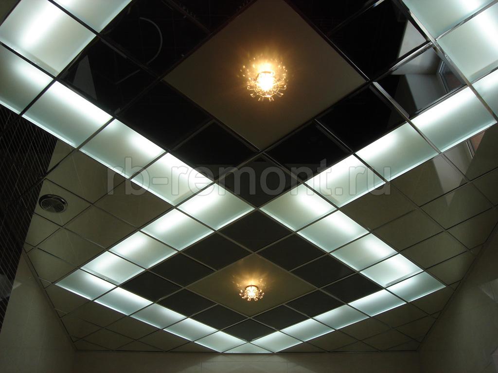 Подвесной потолок в Уфе 5 (бол.)