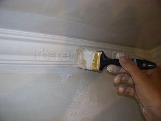 Покраска потолка 2 (бол.)