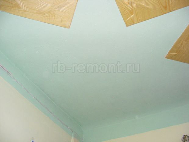 Покраска потолка 6 (бол.)