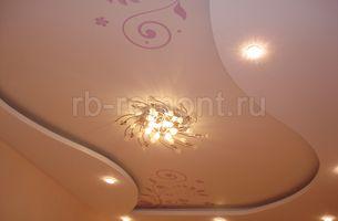 Потолок из гипсокартона 1 (мал.)
