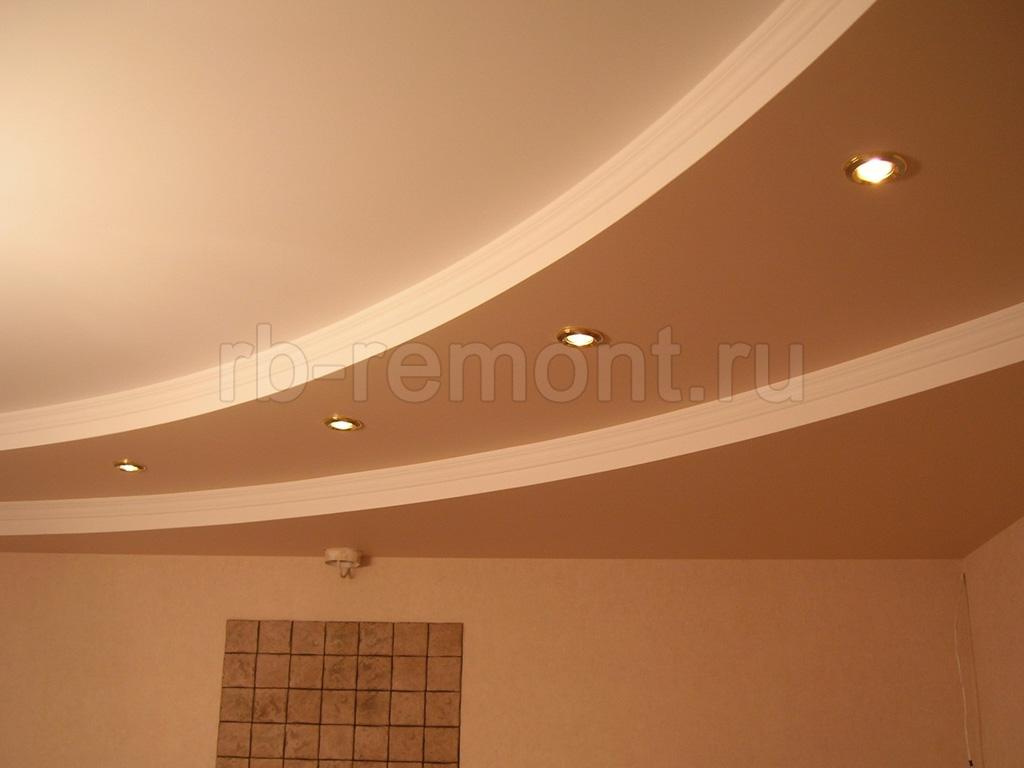 Потолок из гипсокартона 3 (бол.)