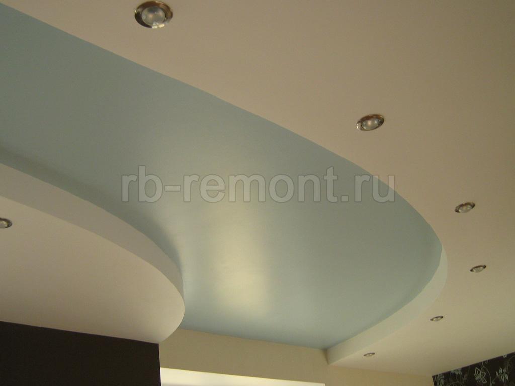 Потолок из гипсокартона 4 (бол.)
