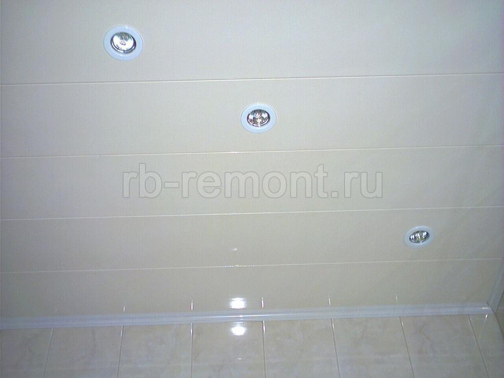 Подвесной потолок из панелей 1 (бол.)