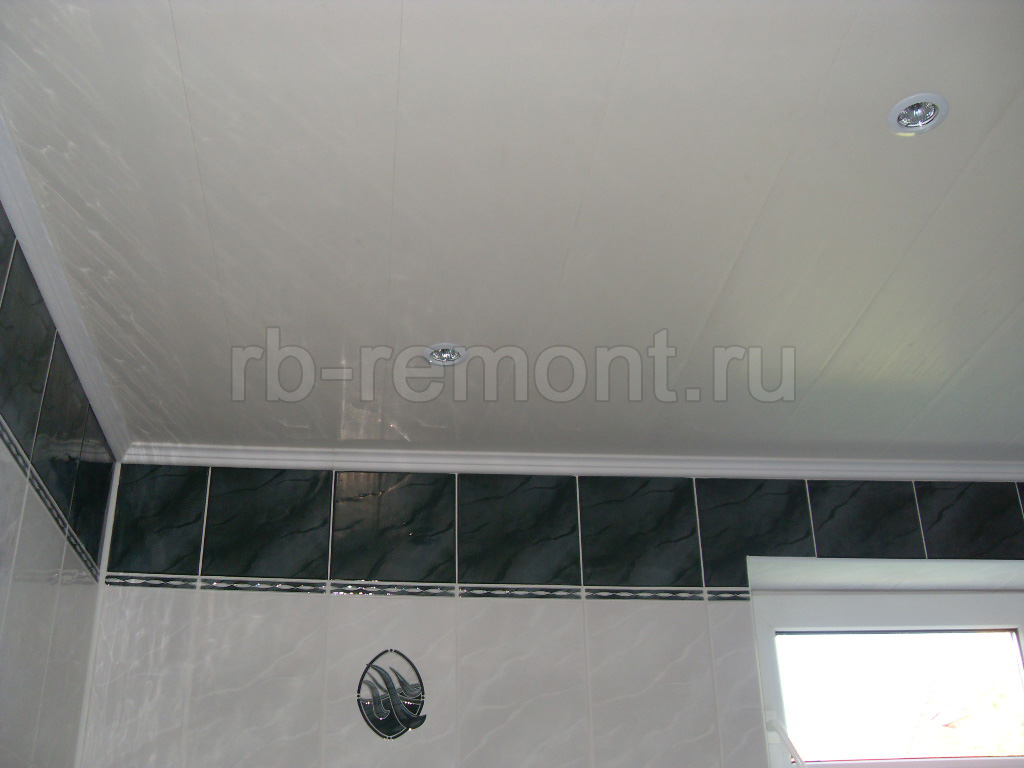 Подвесной потолок из панелей 4 (бол.)