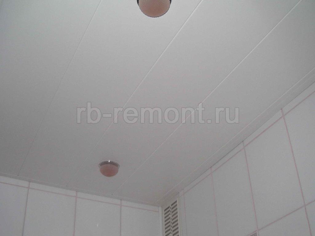 Подвесной потолок из панелей 6 (бол.)