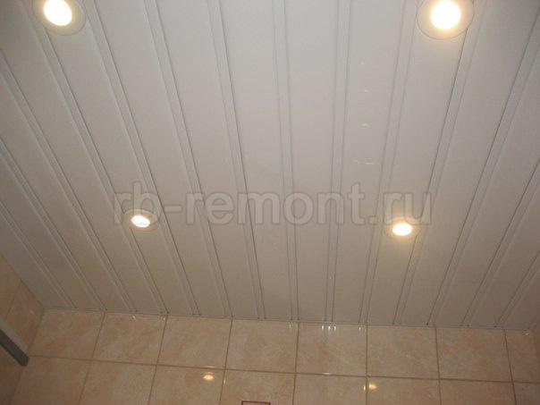 Подвесной реечный потолок 1 (бол.)