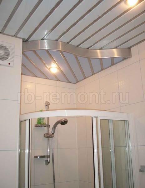 Подвесной реечный потолок 4 (бол.)