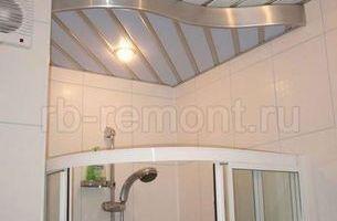 Подвесной реечный потолок 4 (мал.)