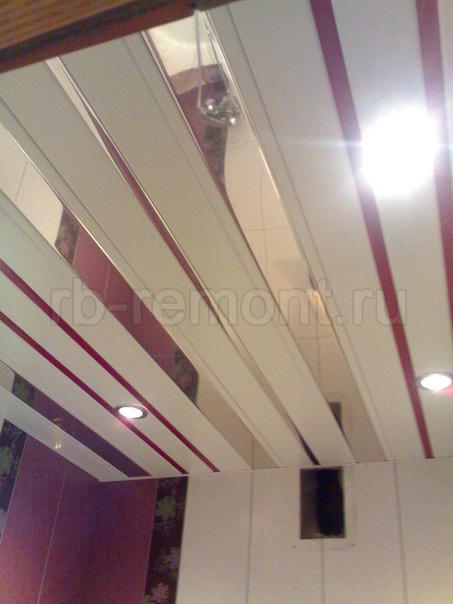 Подвесной реечный потолок 5 (бол.)