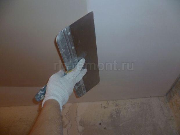 Шпатлевка потолка 2 (бол.)