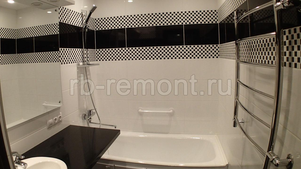Ремонт ванной комнаты 3 (бол.)