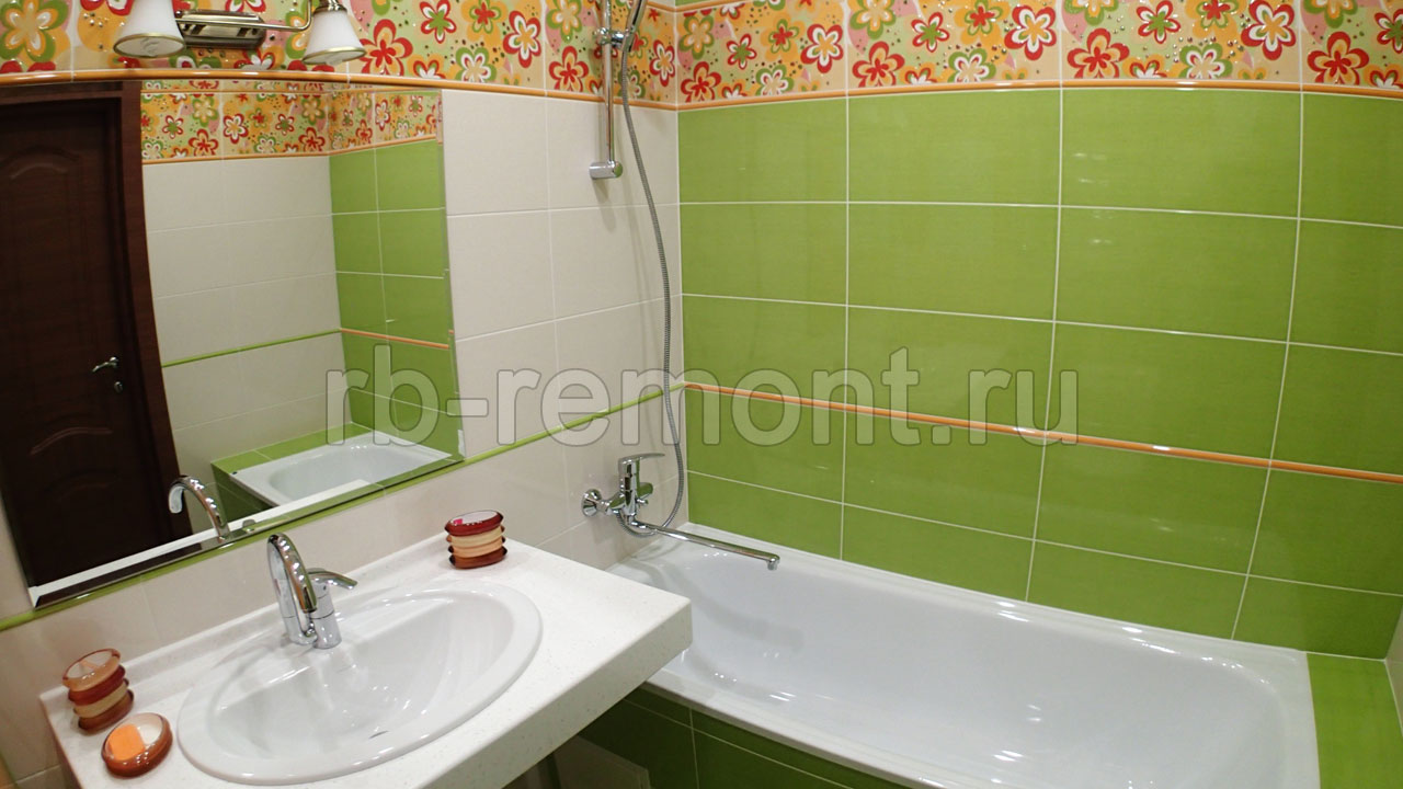 Ремонт ванной комнаты 6 (бол.)
