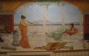 Роспись на стенах 6 (мал.)