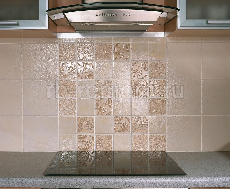 Укладка плитки на кухне 2 (бол.)