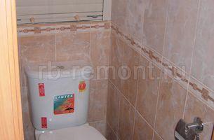 Укладка плитки в туалете 2 (мал.)