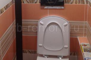 Укладка плитки в туалете 6 (мал.)