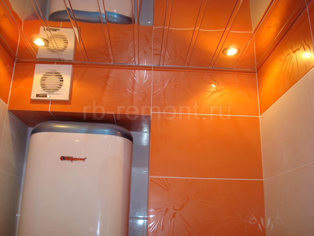 Укладка плитки в ванной комнате 1 (бол.)