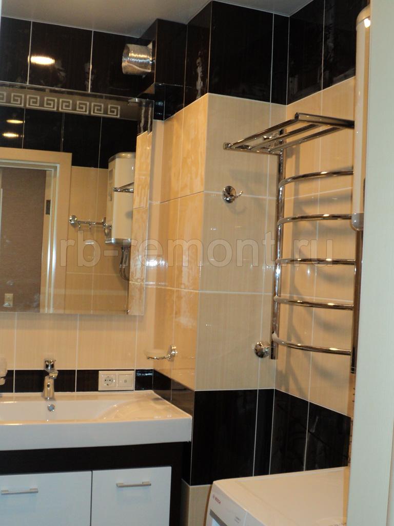 Укладка плитки в ванной комнате 2 (бол.)