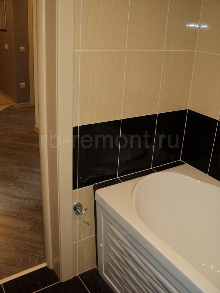 Укладка плитки в ванной комнате 3 (бол.)