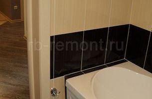 Укладка плитки в ванной комнате 3 (мал.)
