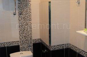 Укладка плитки в ванной комнате 4 (мал.)