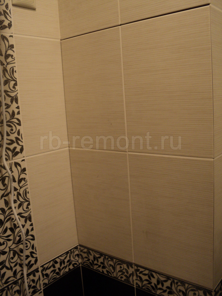 Укладка плитки в ванной комнате 5 (бол.)